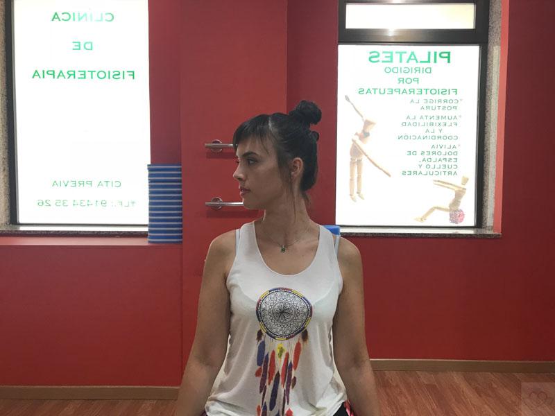 Rotación cabeza ejercicio cervical