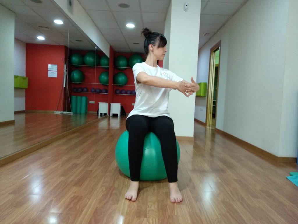 Rotación de tronco sin perder la elongación vertebral