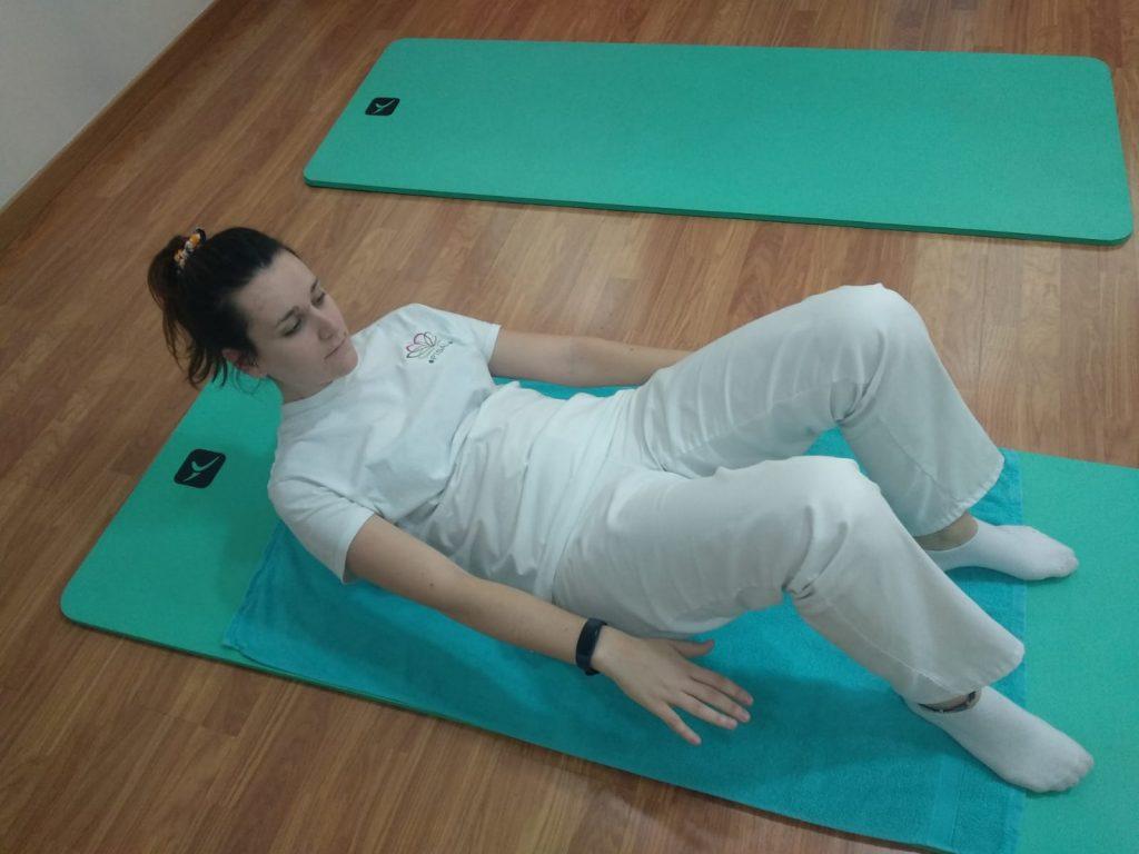Ejercicio de preparación abdominal