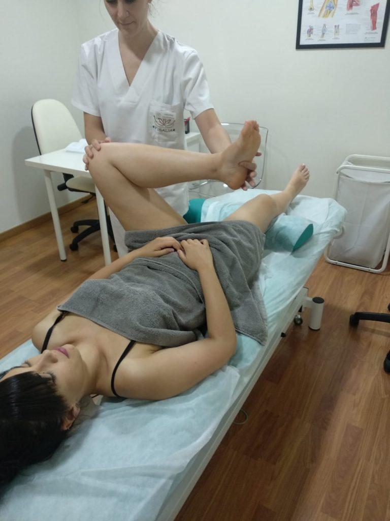 Estiramiento del nervio ciático para ganar en flexibilidad