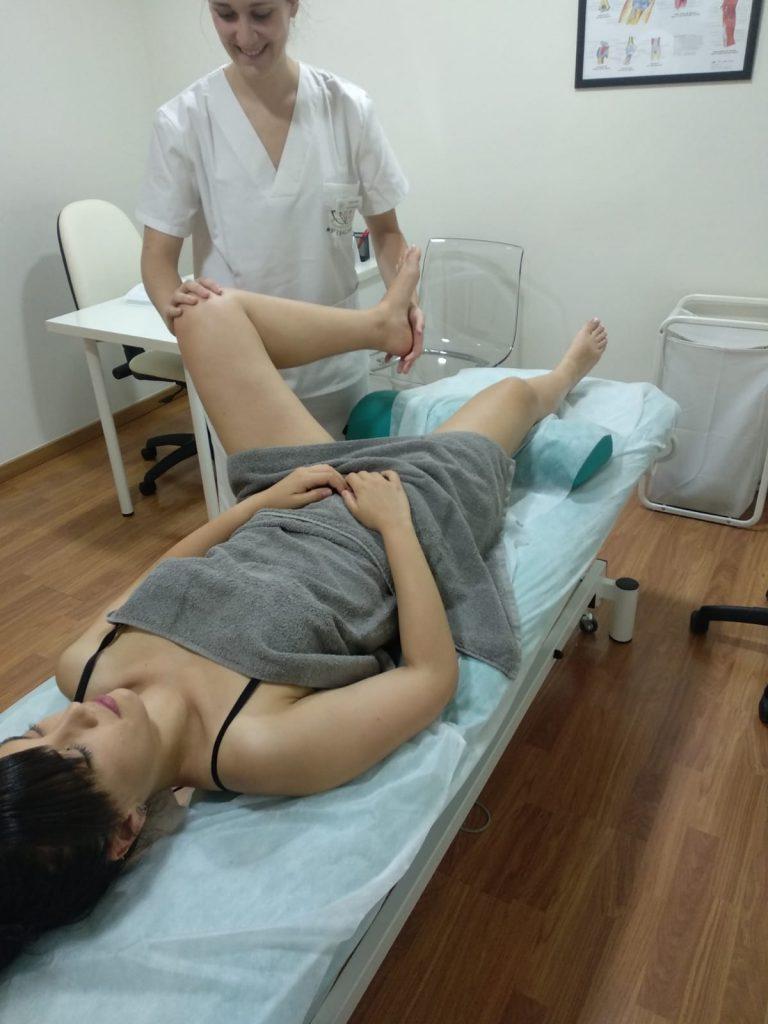 Movilización articular para dotar de flexibilidad la cadera