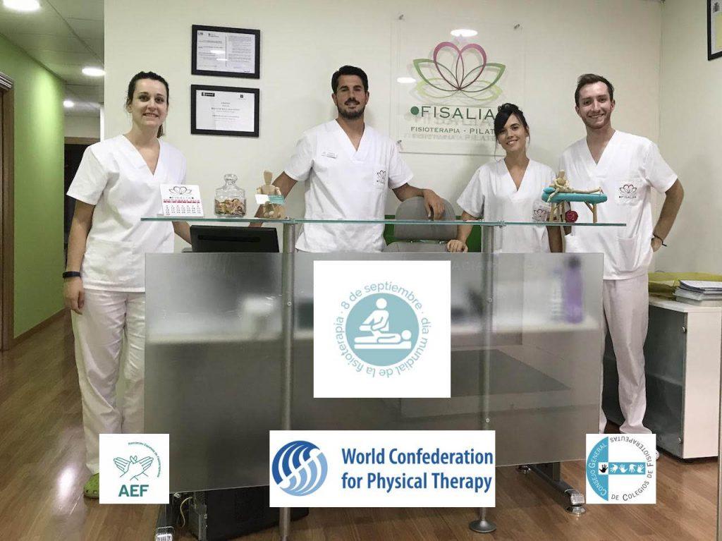 Equipo de Fisalia - Día mundial de la fisioterapia