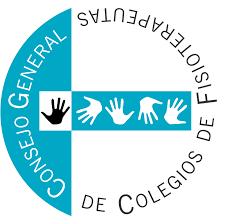 Logo del Consejo General de Colegios de Fisioterapeutas de España