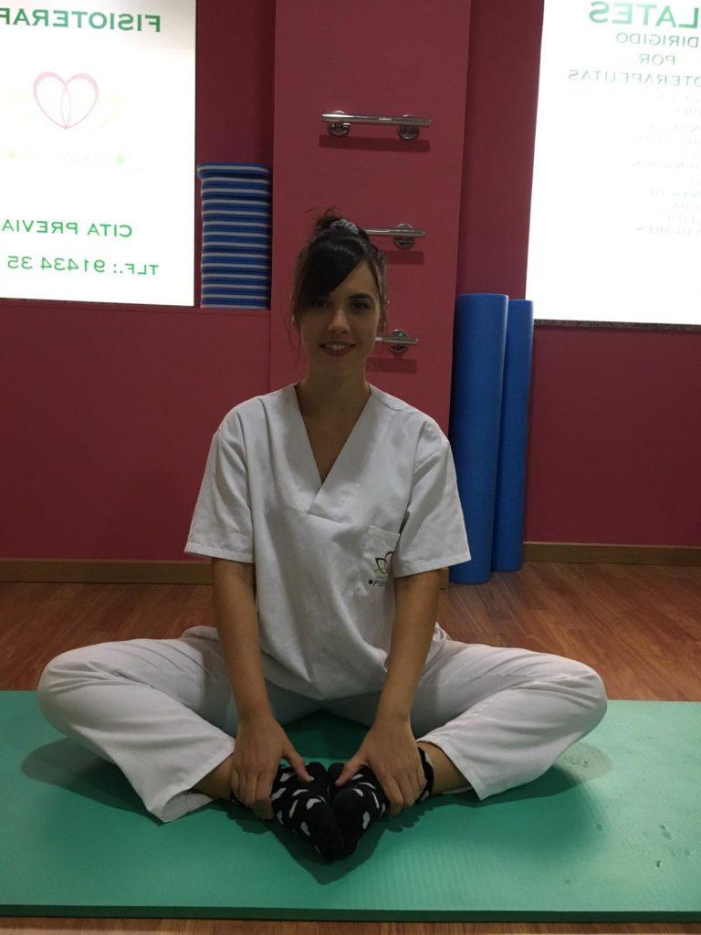 Ejercicio para estirar la musculatura aductora