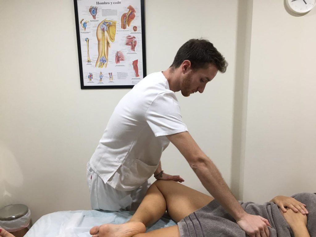 Elongación muscular para tratar la pubalgia