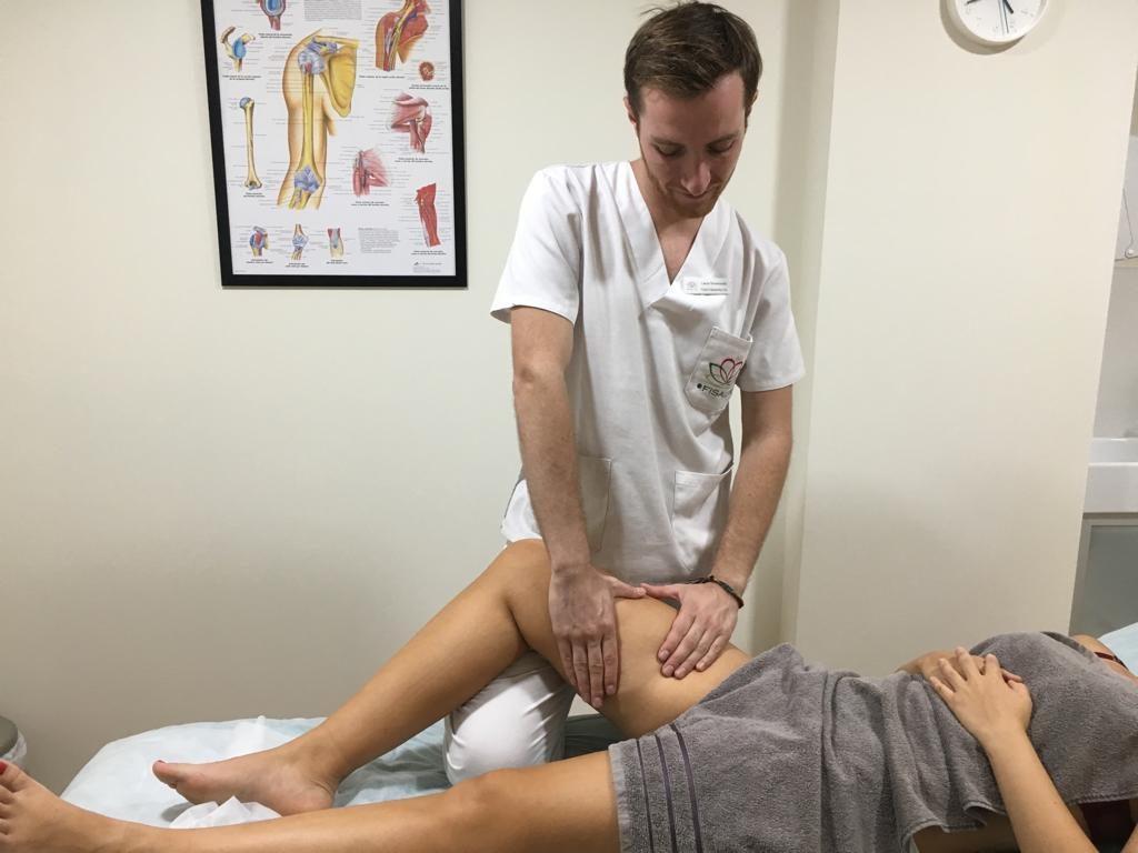 Masoterapia para tratamiento de pubalgia