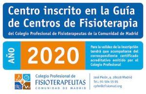 Logo Colegio Fisioterapeutas de Madrid
