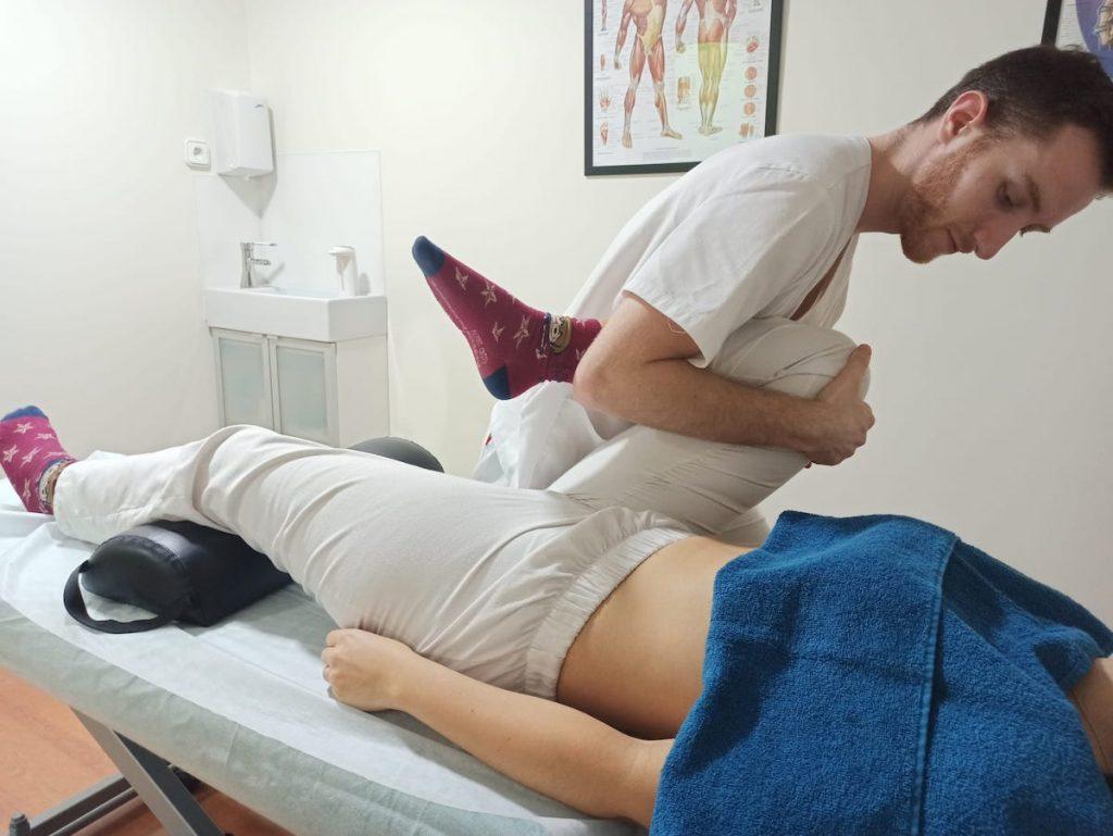 Movilización de cadera