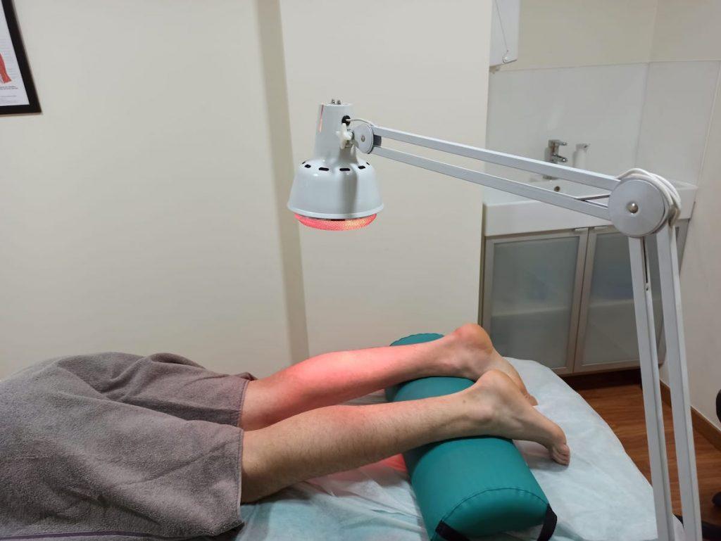 Técnica analgésica de aplicación de calor para la disminución del dolor