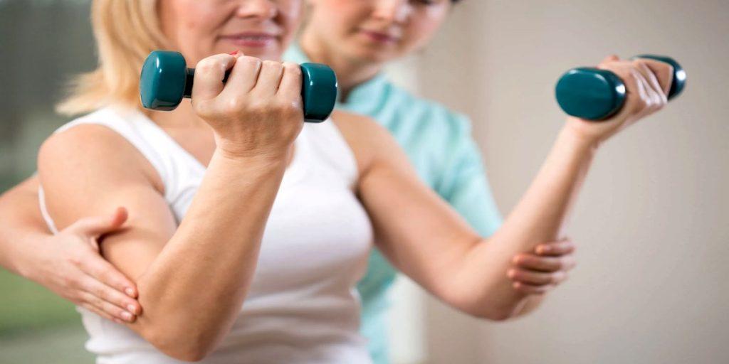 Ejercicios para fortalecer los brazos y hombros