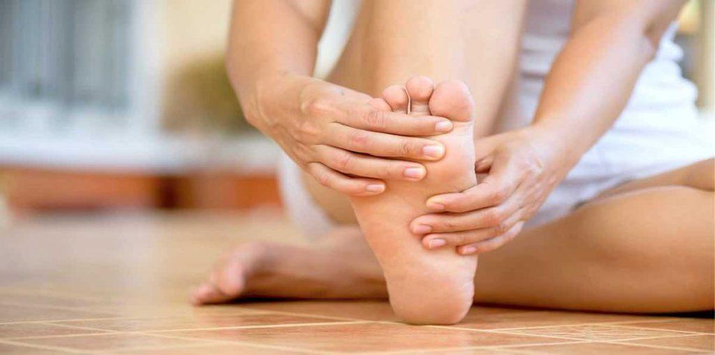 Neuroma de Morton, lesión en el pie