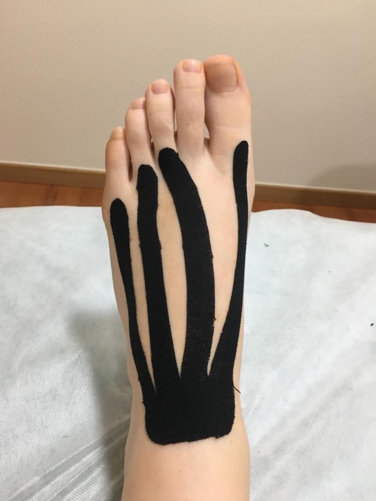 Vendajes en el pie