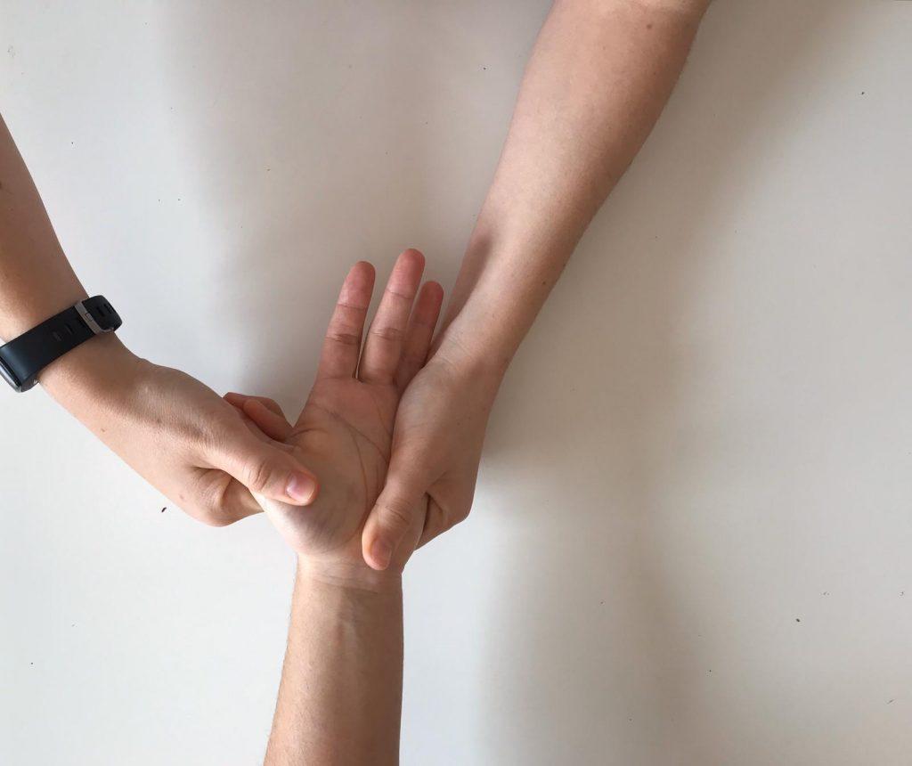 Masoterapia para los músculos de la mano