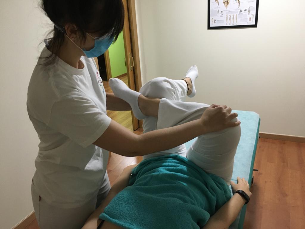 Estirando para tratar estenosis
