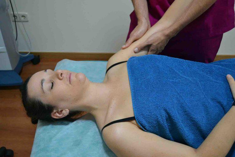 Drenaje linfático manual con fisioterapia