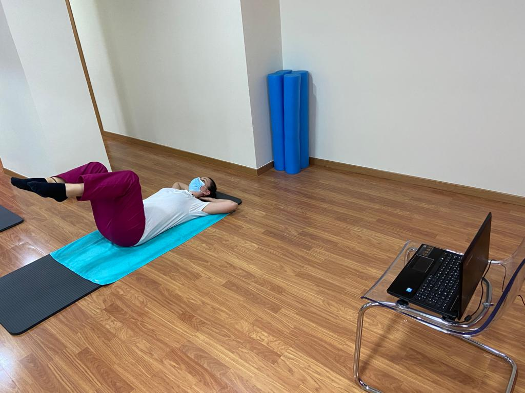 Clase de Pilates Online