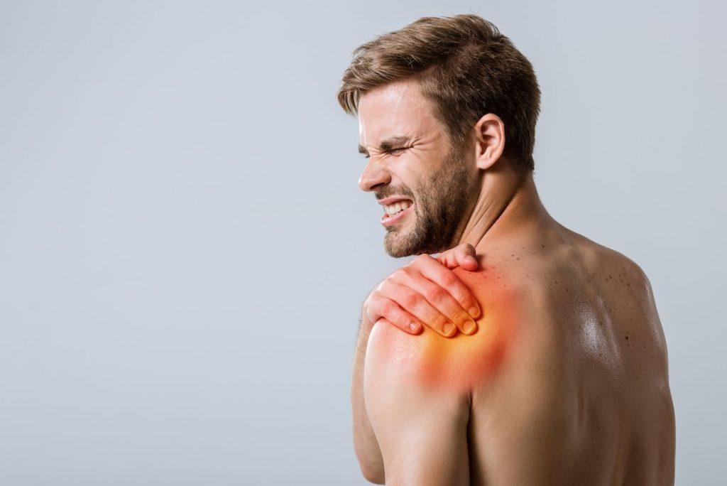 Dolor en hombro lesión de SLAP